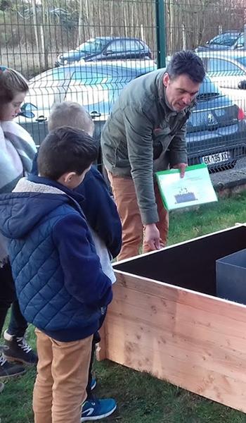 potager modulable keyhole garden innovation biodiversité design accessibilité
