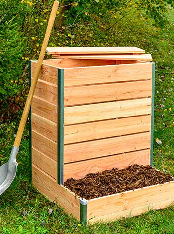 composteur design bois